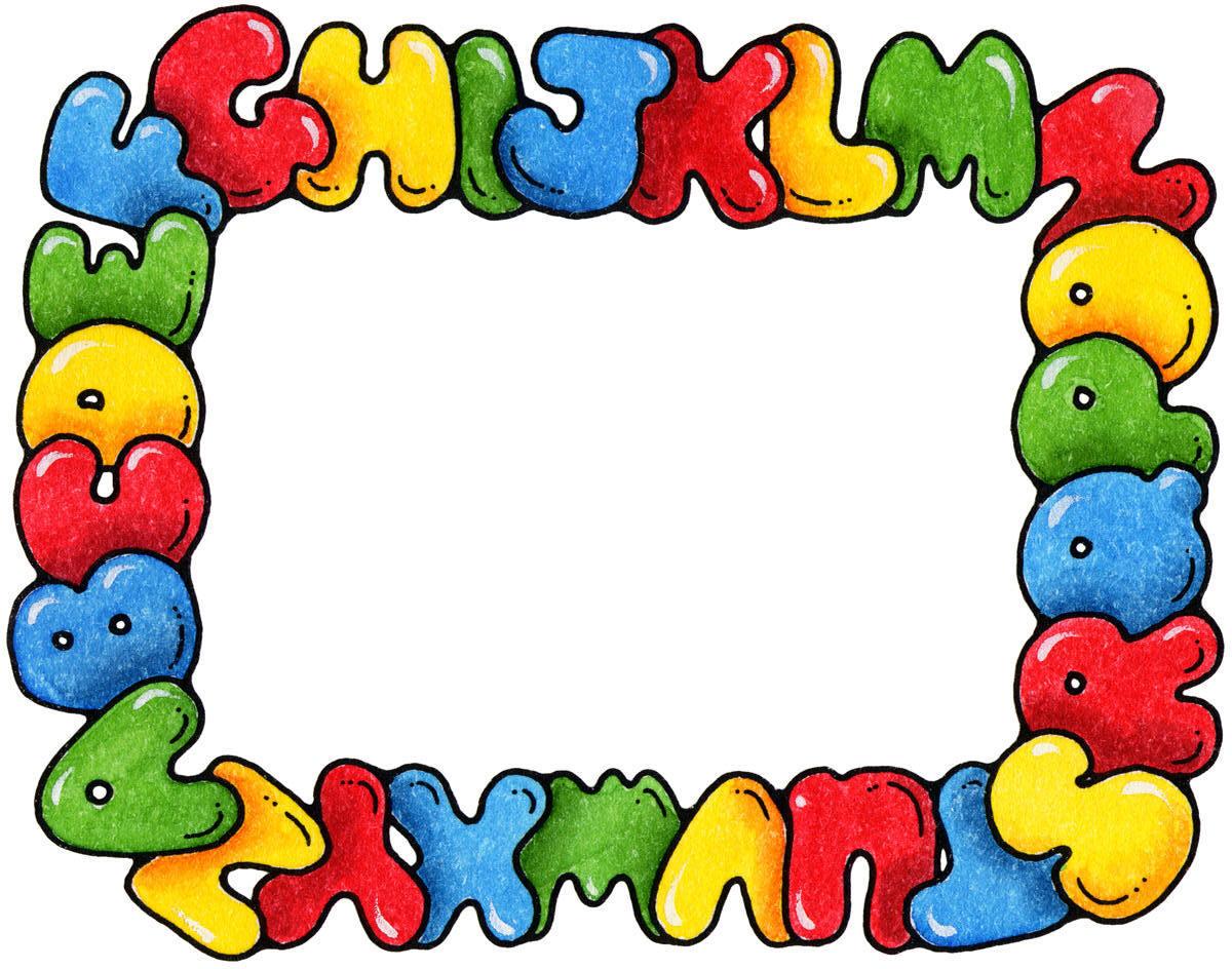Preschool Border Clipart - Clipart Kid
