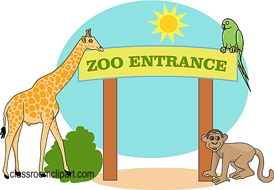 Zoo Animals Clipart Free   Cliparts Co