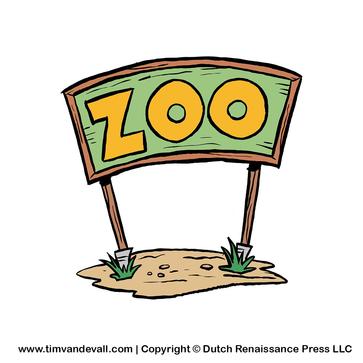 Zoo Sign Clipart   Free Clip Art For Kids