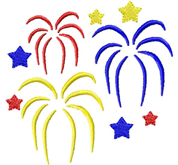 4th Of July Fireworks Clipart - Clipart Kid