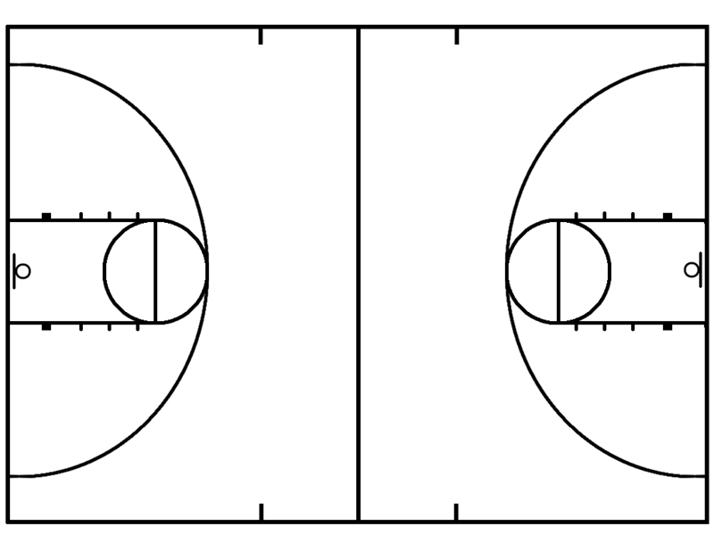 Clip Art Basketball Court Clipart basketball court clipart kid half panda free images