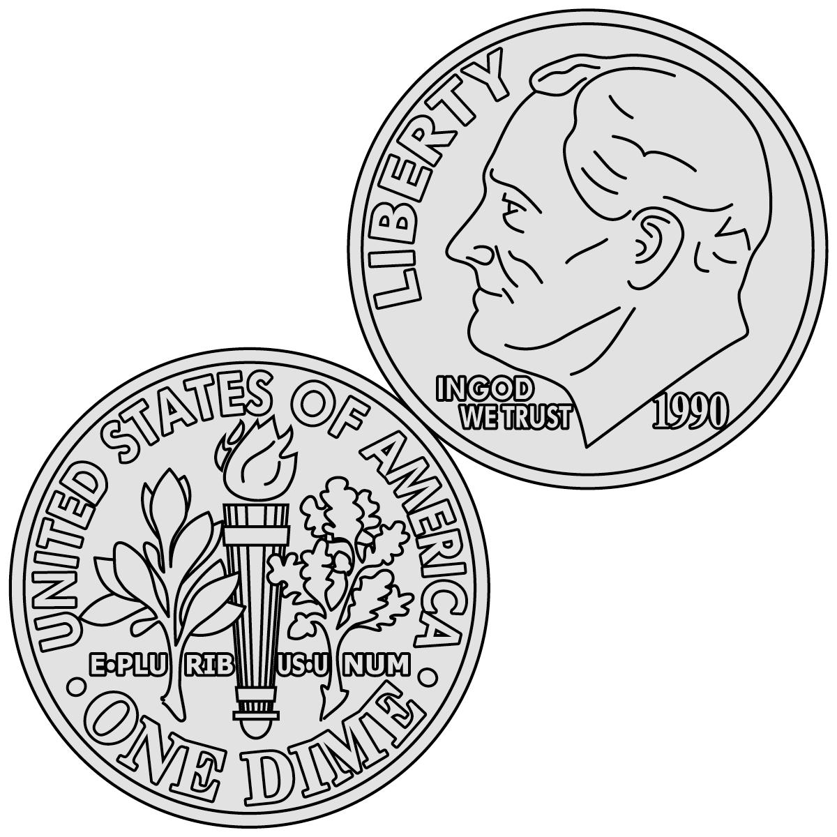 Clip Art Coin Clip Art coins for teachers clipart kid clip art penny front color