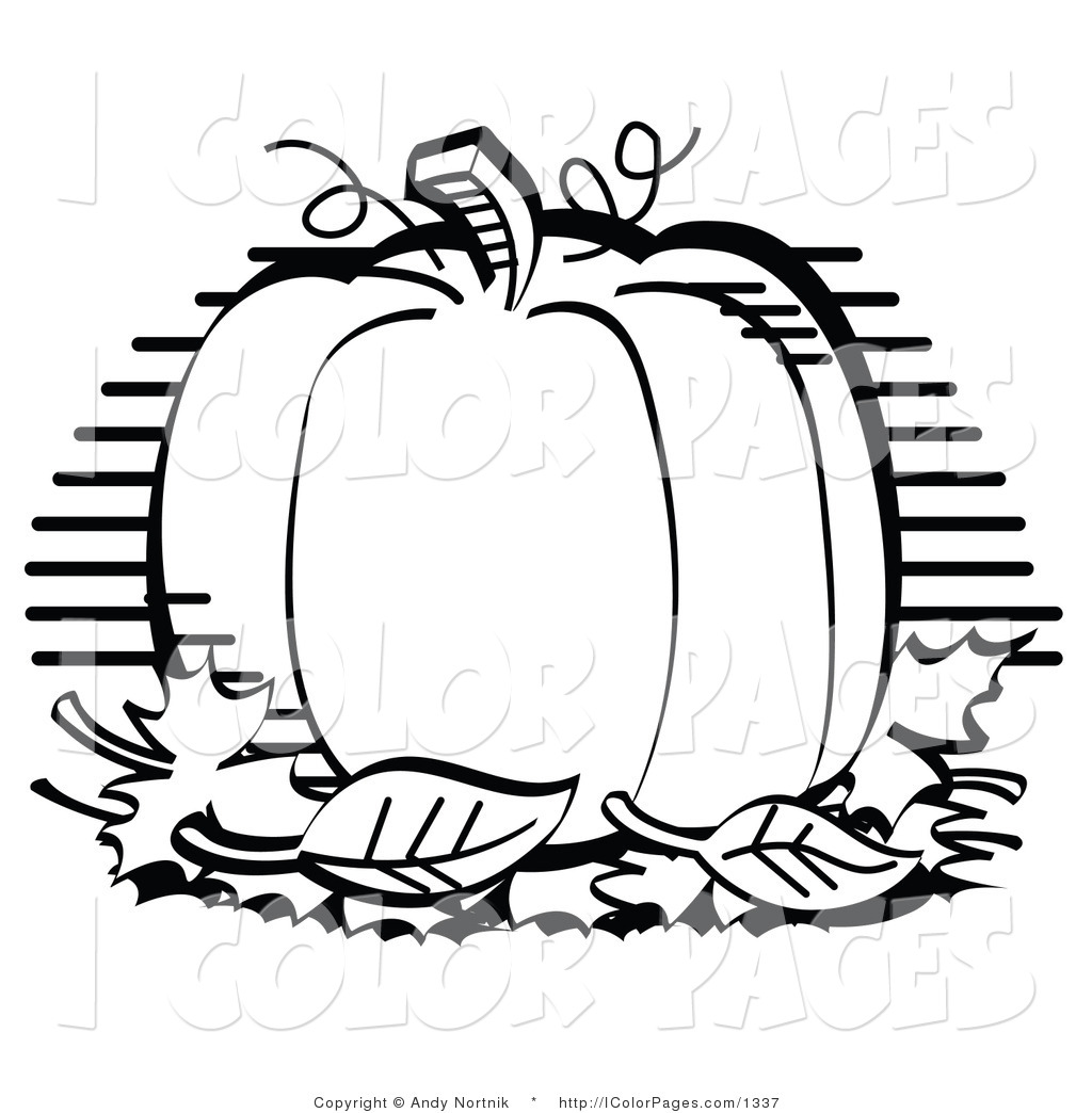 Clipart Black And White Vector Coloring Page Of A Black And White