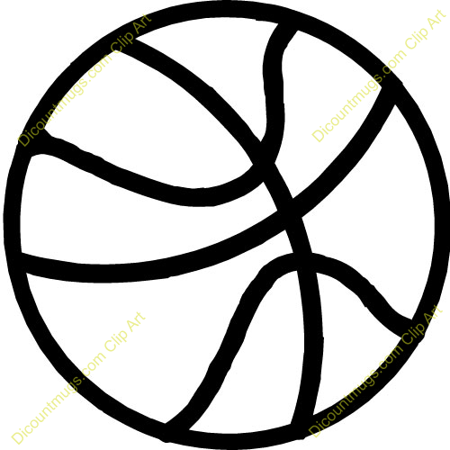 Go Back   Gallery For   Half Basketball Ball Clipart