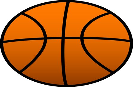 Half Basketball Ball Clipart Through A Youth Basketball