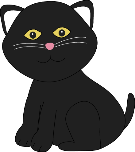 Halloween Cat Clipart Black And White   Clipart Panda   Free Clipart