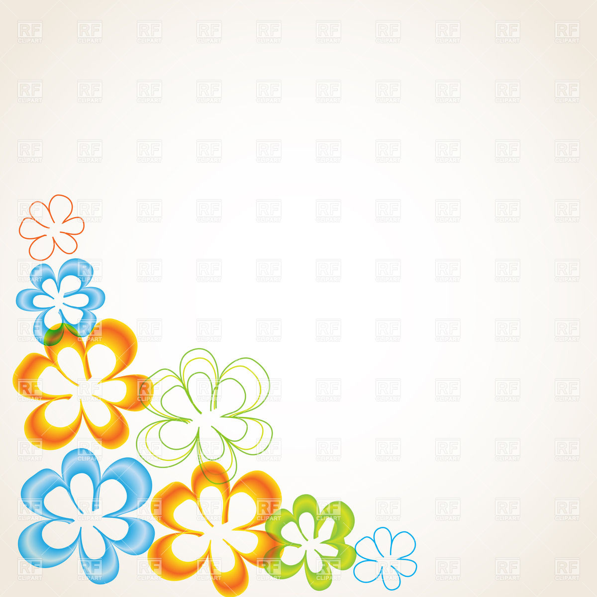 Stylized Floral Corner Download Royalty Free Vector Clipart  Eps