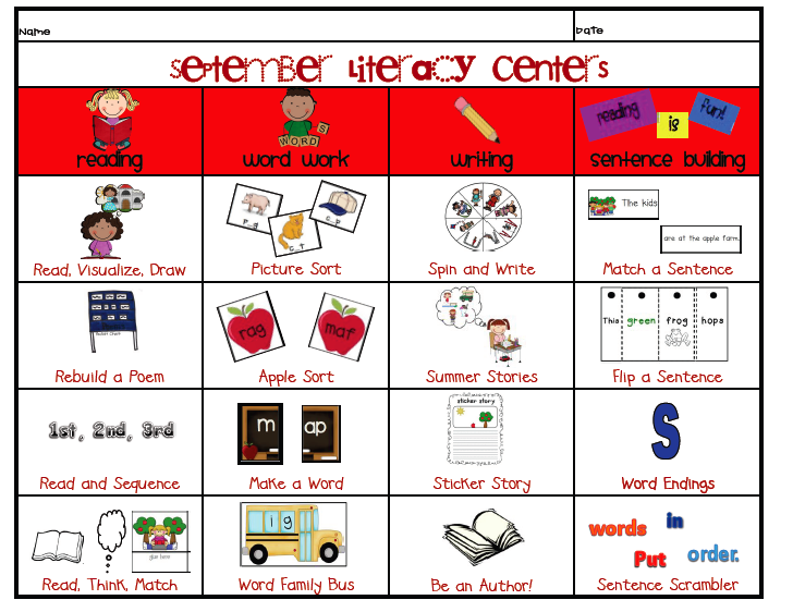 Teaching Blog Addict  Literacy Center Organization And A Center Rubric