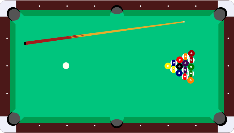 Pool Games Clipart Clipart Suggest
