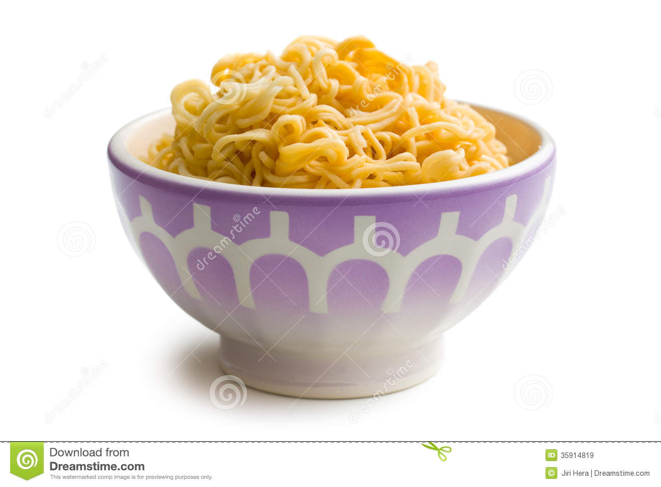 Boiled Chinese Noodles In Bowl Royalty Free Stock Images   Image