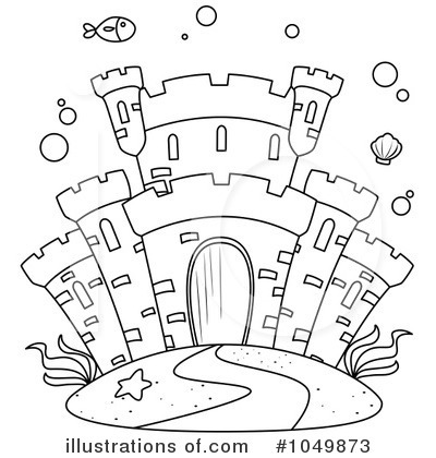 Castle Clipart  1049873 By Bnp Design Studio   Royalty Free  Rf  Stock