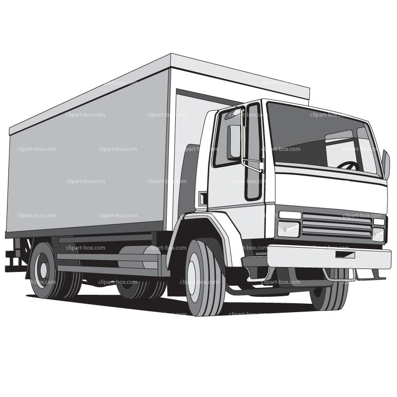 Delivery Truck Clipart - Clipart Suggest