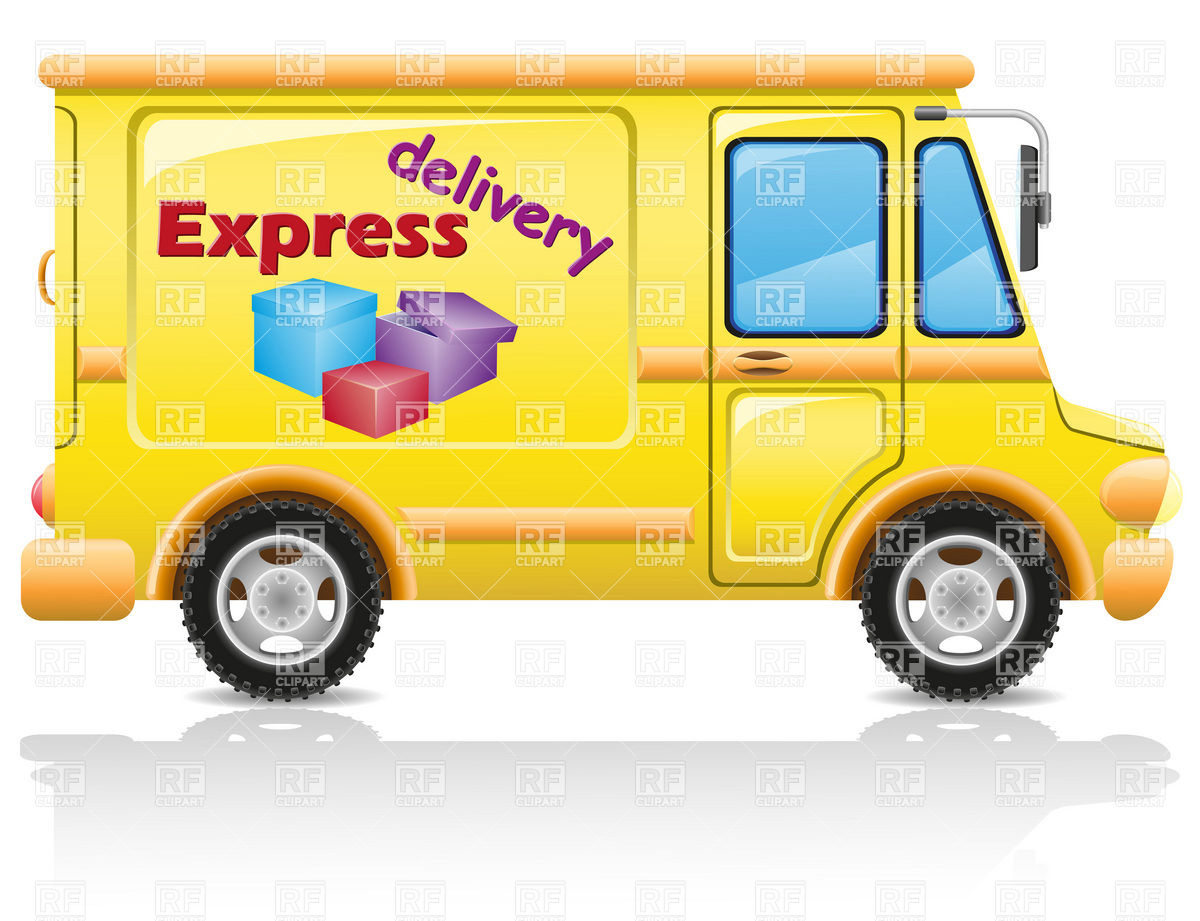 Delivery Truck Clipart Express Delivery Van