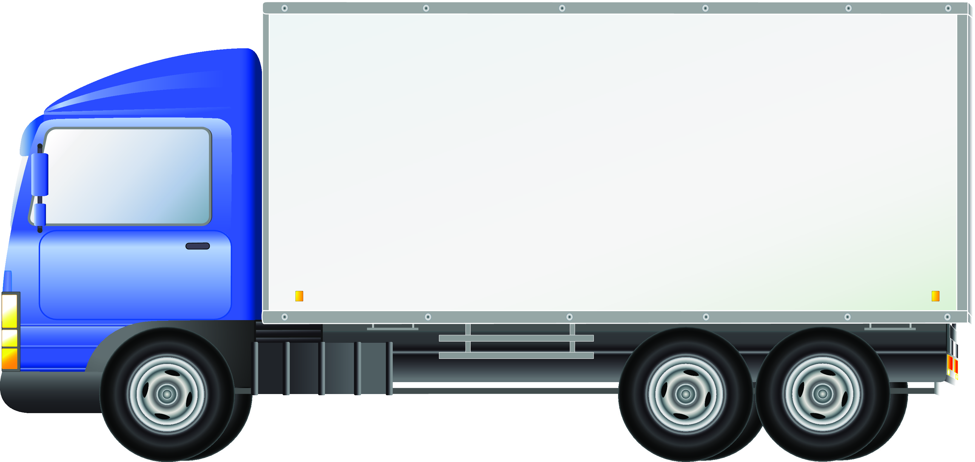 Delivery Truck Clipart - Clipart Kid