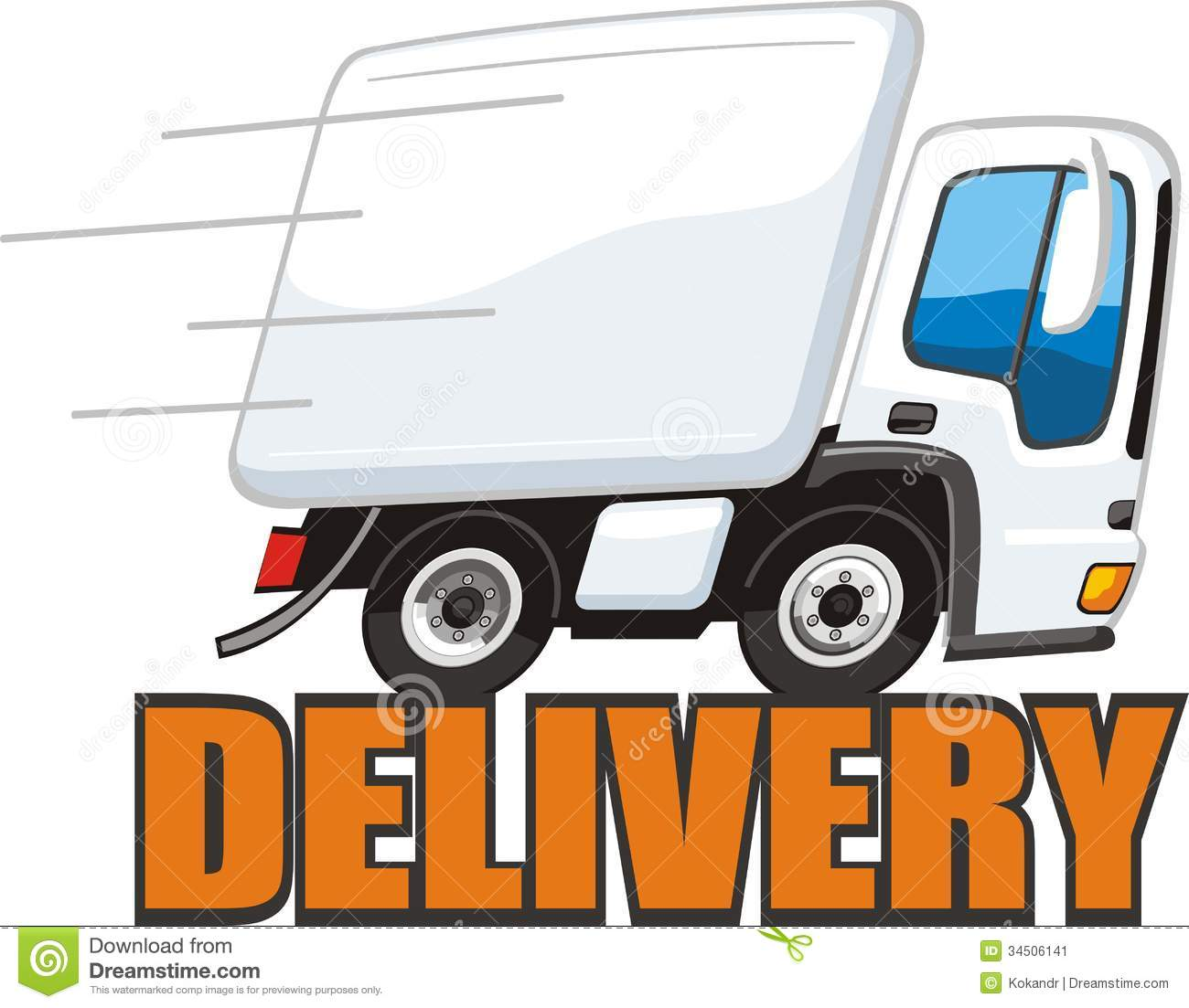 Shipping Delivery: Shipping Truck Clipart