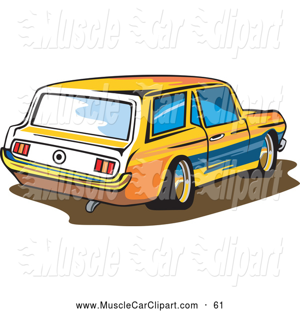 Ford Mustang Station Wagon Car Muscle Car Clip Art Patrimonio