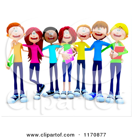 College Student Group Clipart - Clipart Kid