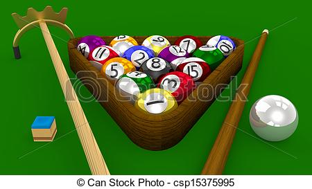 Pool 3d Game   All    Csp15375995   Search Vector Clipart Drawings