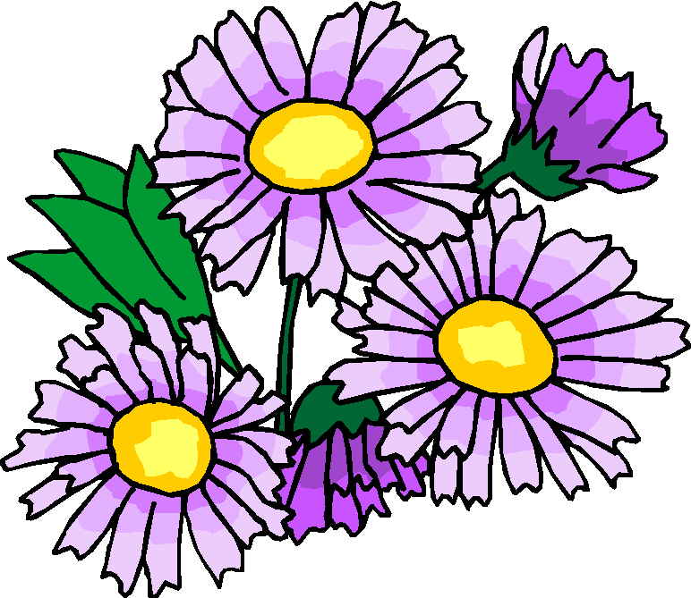 Purple Flowers Free Clipart   Free Microsoft Clipart