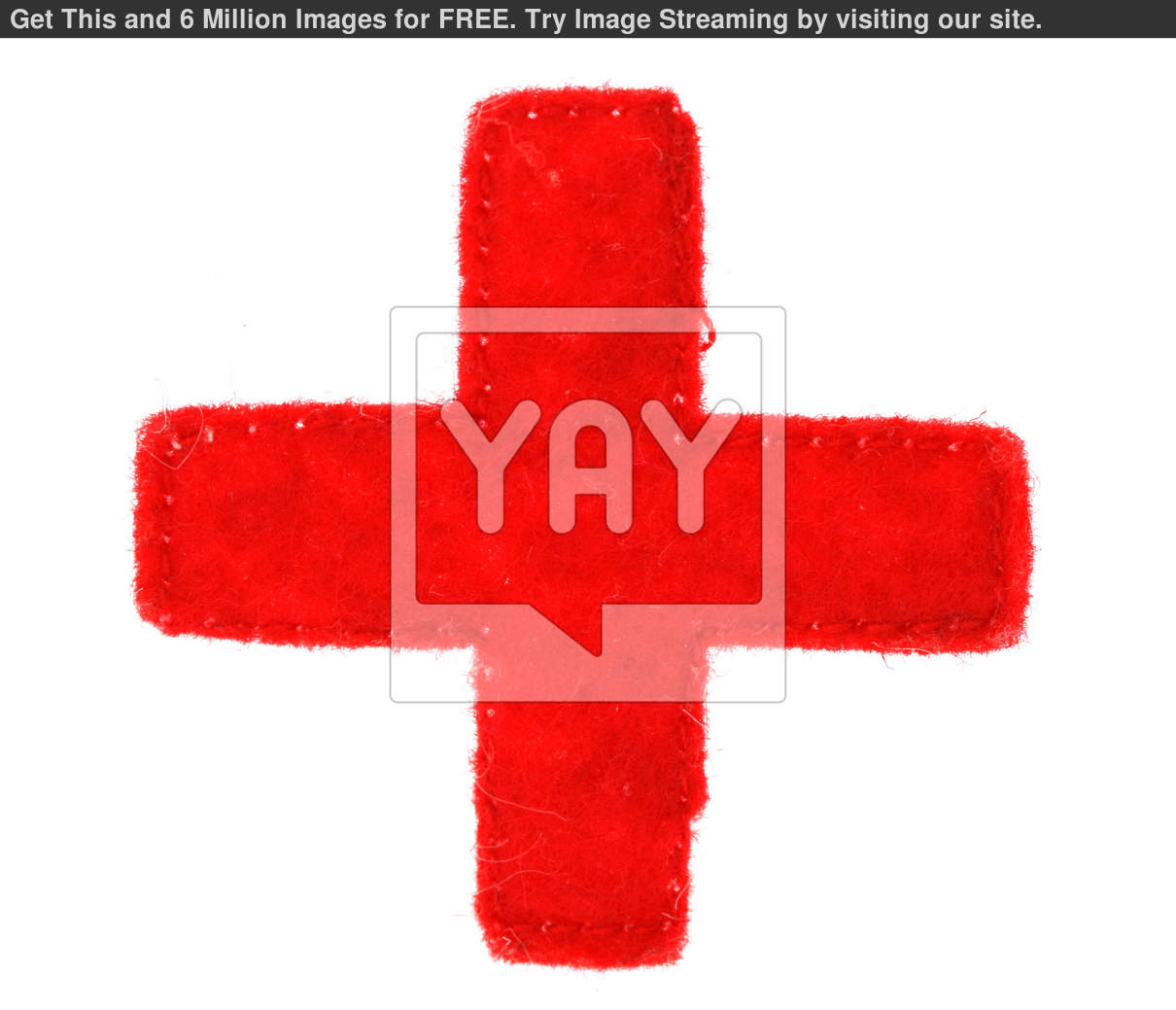 Royalty Free Image Of Medical Red Cross Symbol