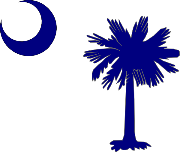 South Carolina Flag Clip Art At Clker Com   Vector Clip Art Online