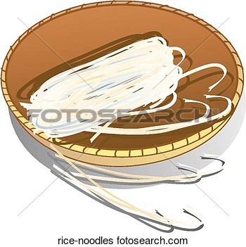 Stock Illustration Of Rice Noodles Rice Noodles   Search Clip Art