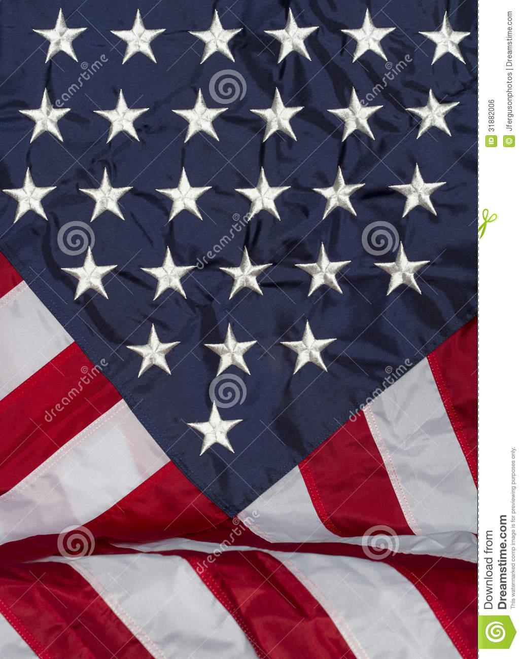 Vertical Flag Draped Forward Royalty Free Stock Image   Image