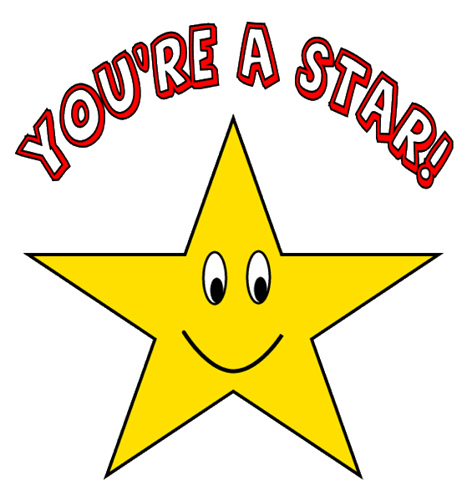 You Re A Star Clipart Sketch Lge 15 Cm #bU0WuI - Clipart Kid