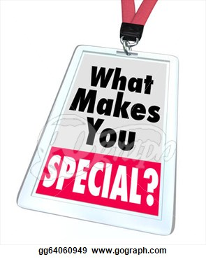 You Special Badge Unique Different Person  Clipart Drawing Gg64060949