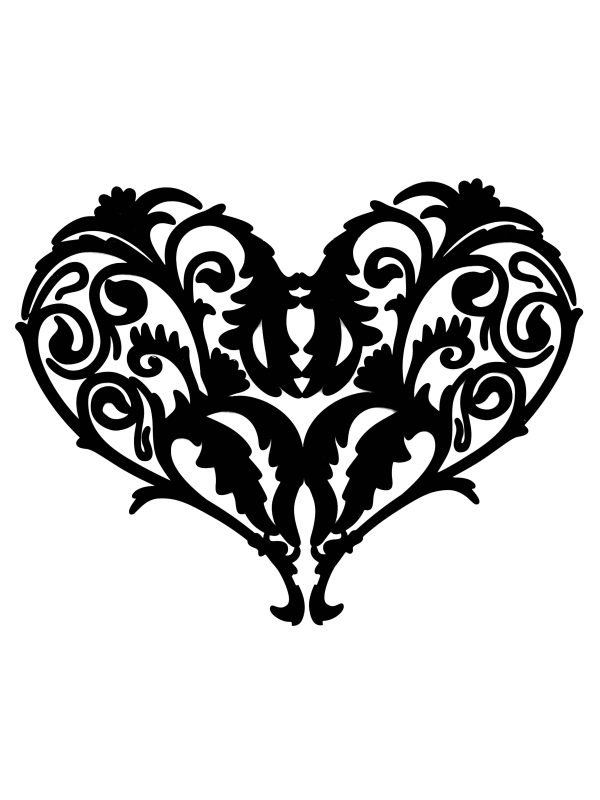 10 Filigree Heart Clip Art Free Cliparts That You Can Download To You