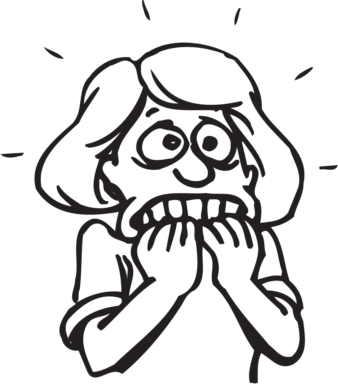 Black Woman Stressed Out Clipart - Clipart Suggest