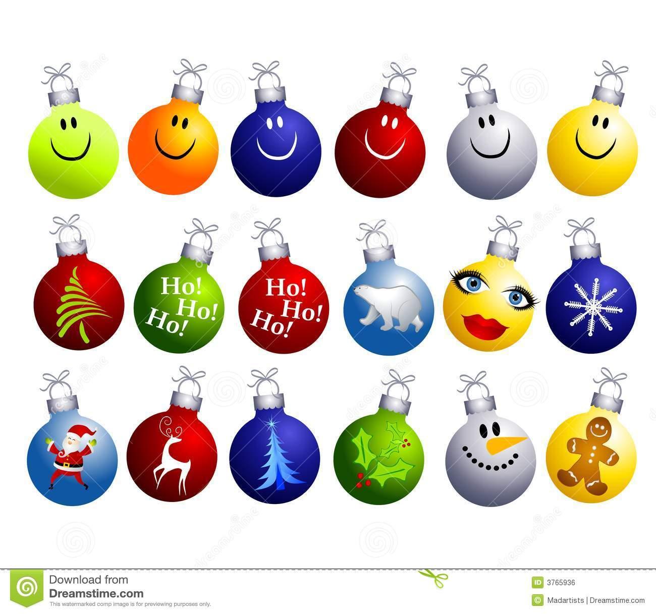 Unique Christmas Ornament Clipart - Clipart Kid