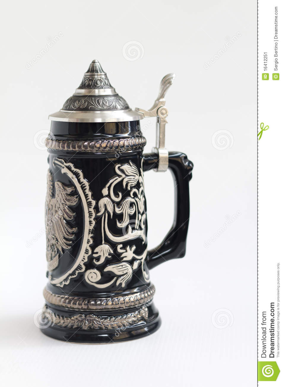 Beer Stein Stock Image   Image  16412251