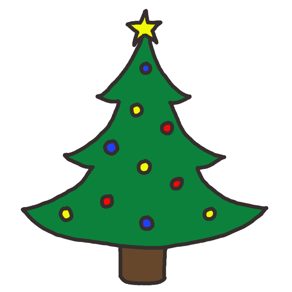 Christmas Tree Clip Art Christmas Tree Clipart Png