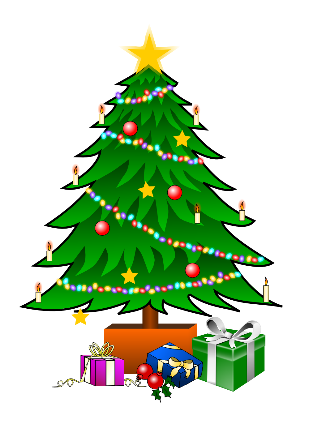 Christmas Tree Decorating Clipart - Clipart Suggest