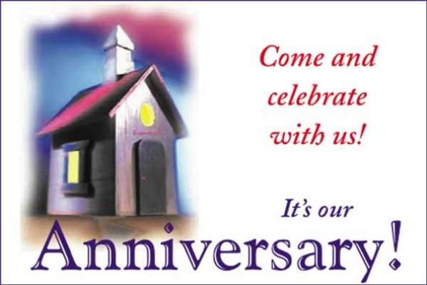 Church Anniversary Clip Art – Cliparts