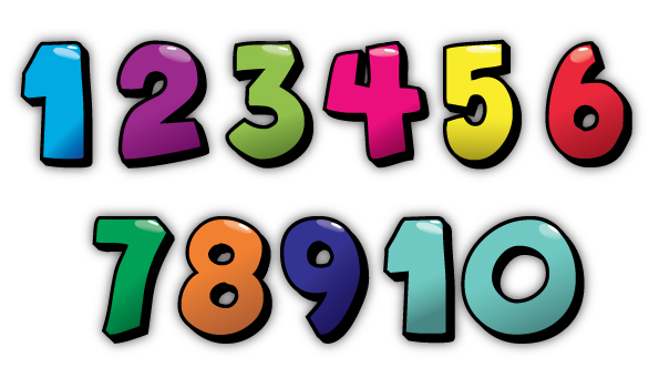 Worksheets Large Numbers 1-10 large numbers 1 20 clipart kid ciclo apoio ao estudo do ingl s