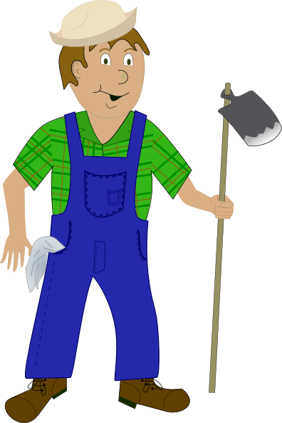 Farmer Clip Art At Clker Com   Vector Clip Art Online Royalty Free