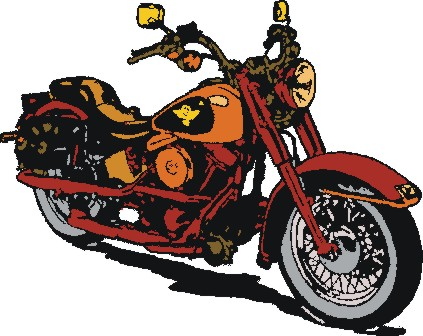 Free Clipart Picture Gallery  Free Motorcycle Clipart Pictures