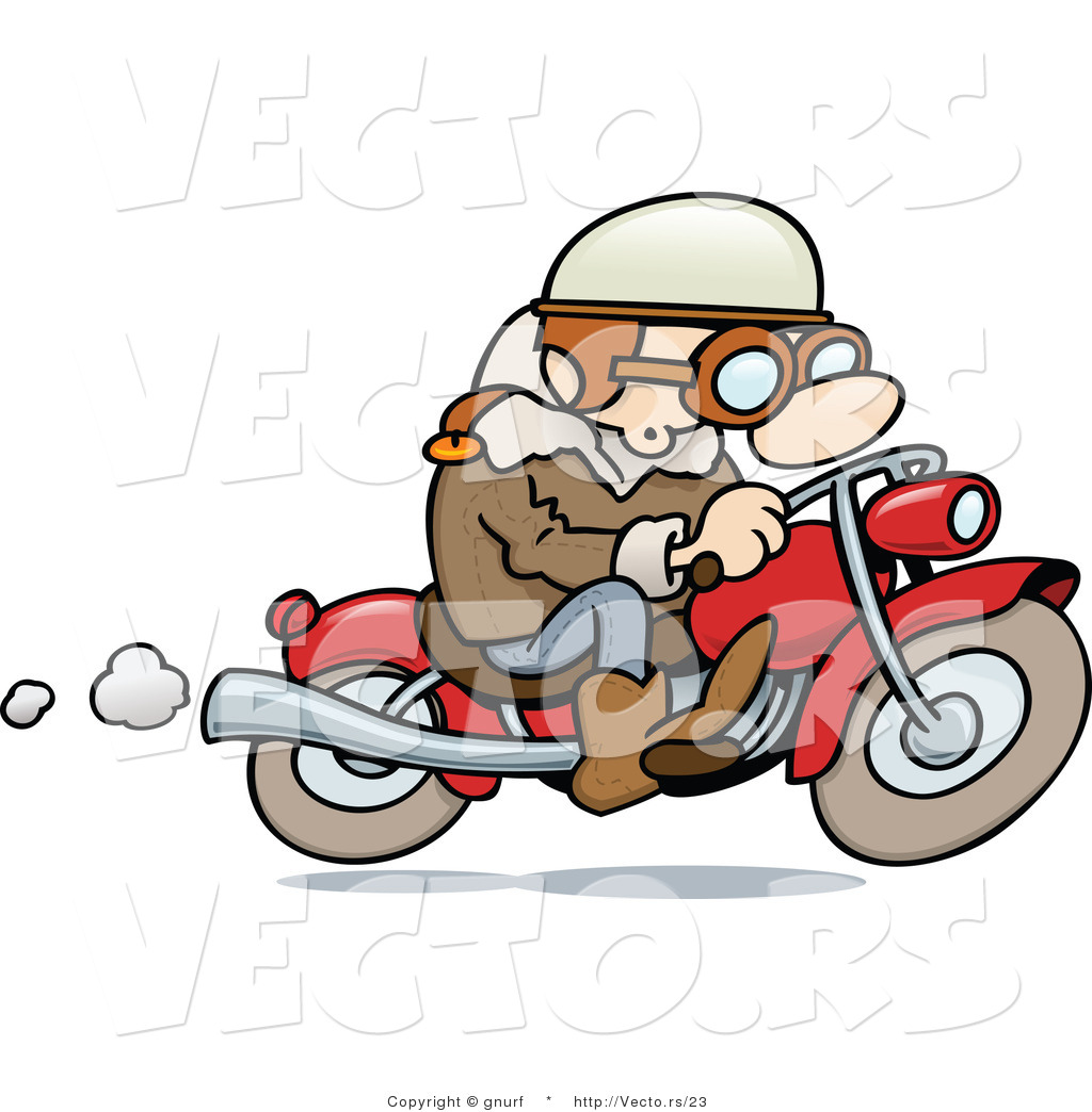 Motorcycle Riding Clipart Guy Riding His Motorcycle