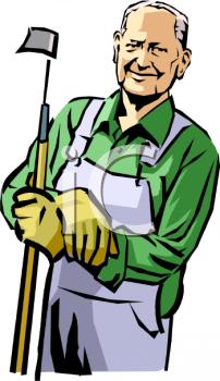 Old Man Farmer Clipart - Clipart Kid