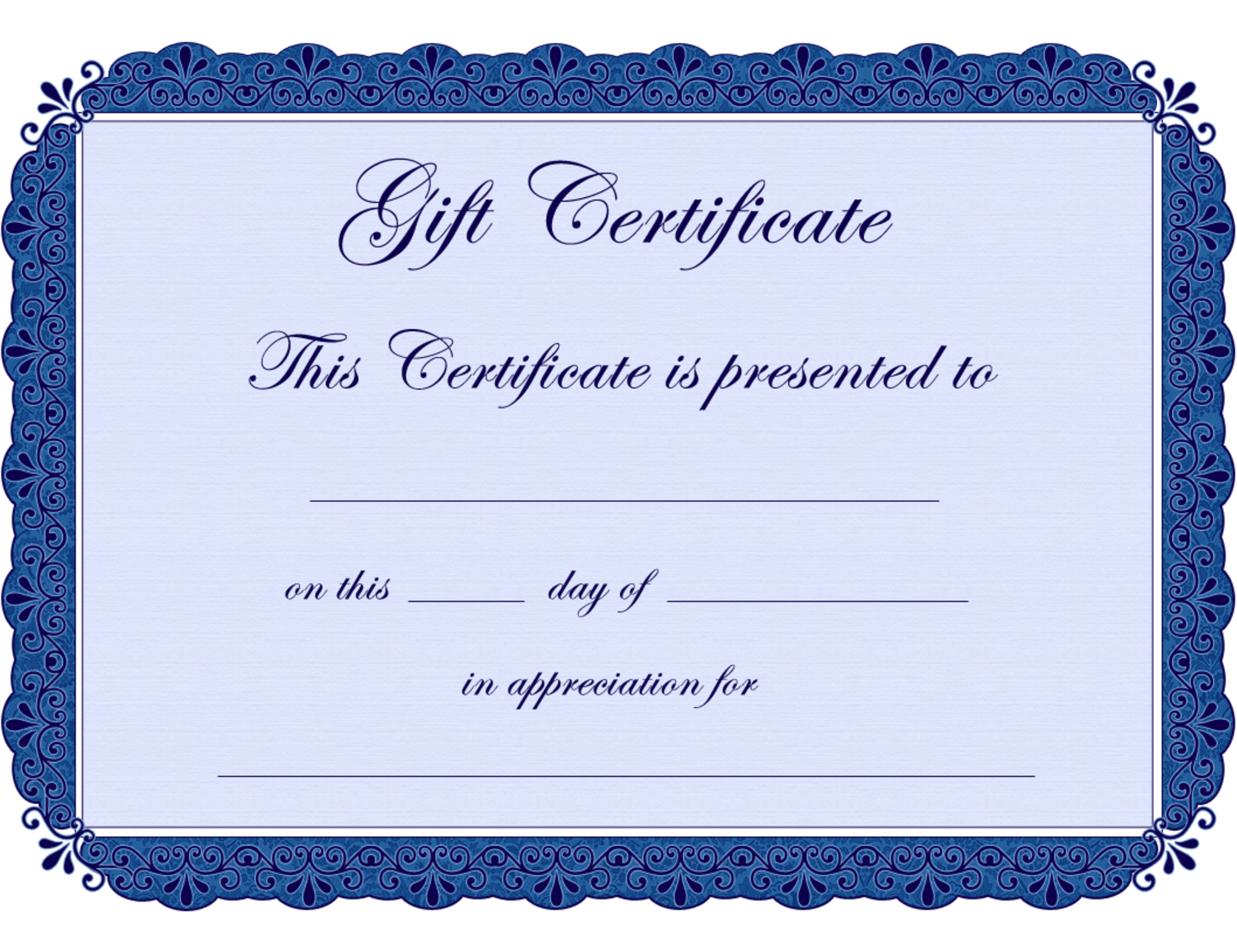 Gift Certificate Template Clipart - Clipart Suggest In Dinner Certificate Template Free