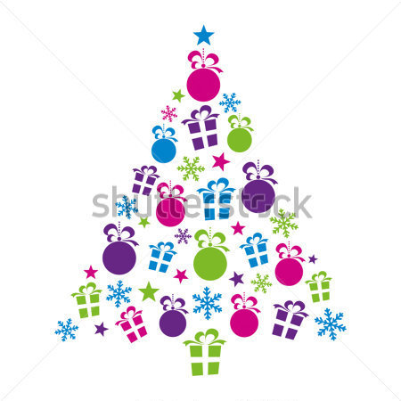Abstract Christmas Tree Abstract Christmas Tree Clipart
