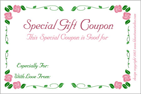 Coupon For Cake Art : Birthday Gift Certificate Clipart - Clipart Suggest