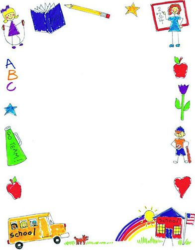 Sunday School Border Clipart - Clipart Kid