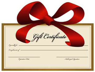 Printable Gift Certificates Clipart - Clipart Kid