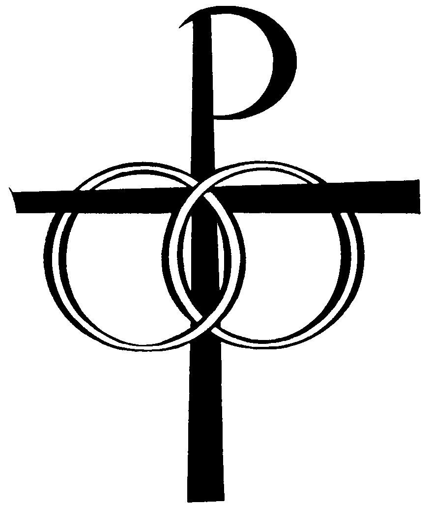 Cross Wedding Rings Clipart - Prewedding Concept