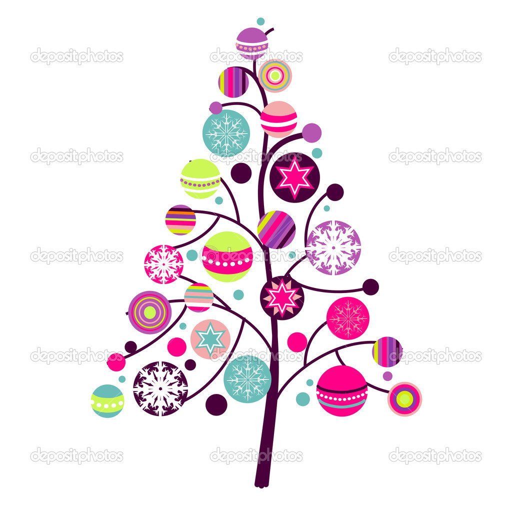 Christmas Tree Clipart Depositphotos 7401577 Abstract Christmas Tree