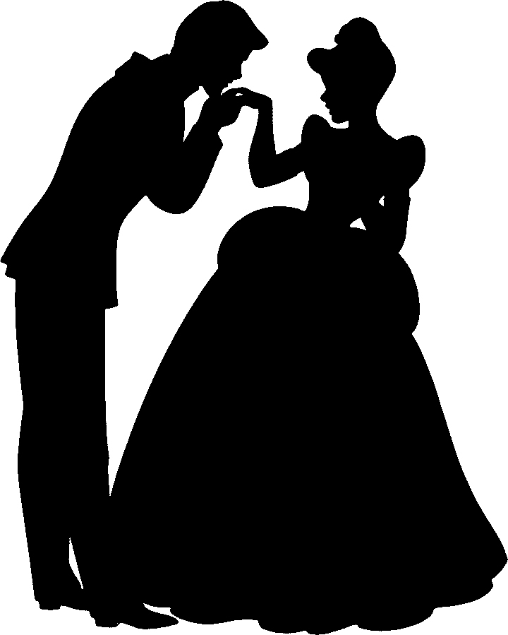Cinderella Prince Charming Silhouette