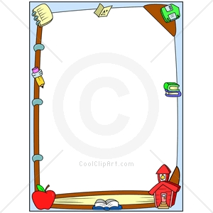 Education Borders Clipart - Clipart Kid